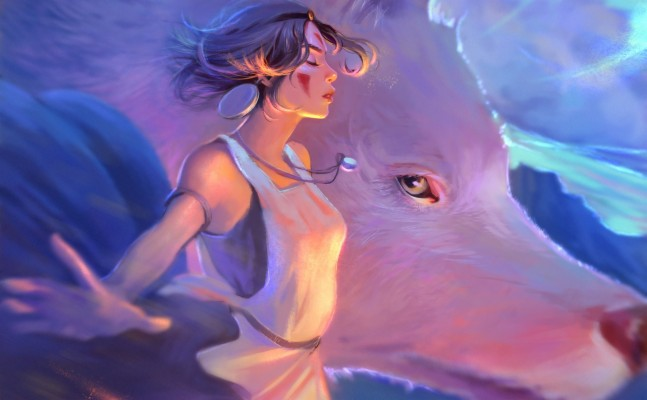 Mononoke Princess Mononoke Anime Girls Movies Studio San Princess Mononoke Art 728x728 Wallpaper Teahub Io