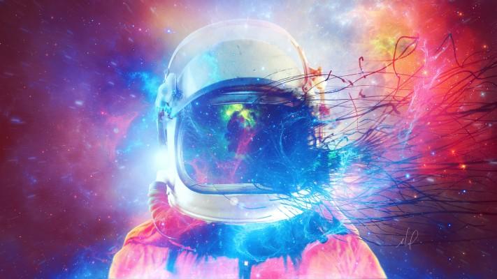 Space Astronaut Sci Fi 4k Iphone 11 Pro Wallpaper 4k 1440x2960 Wallpaper Teahub Io