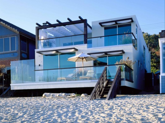 Beach House Wallpaper For Desktop Wallpapercraft Houses Overlooking The Sea 1920x1080 Wallpaper Teahub Io