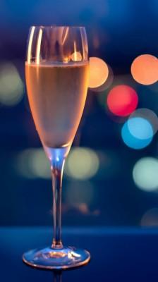 Iphone Wallpaper Wine Glasses Drinks Glare Night Champagne With City View 750x1334 Wallpaper Teahub Io