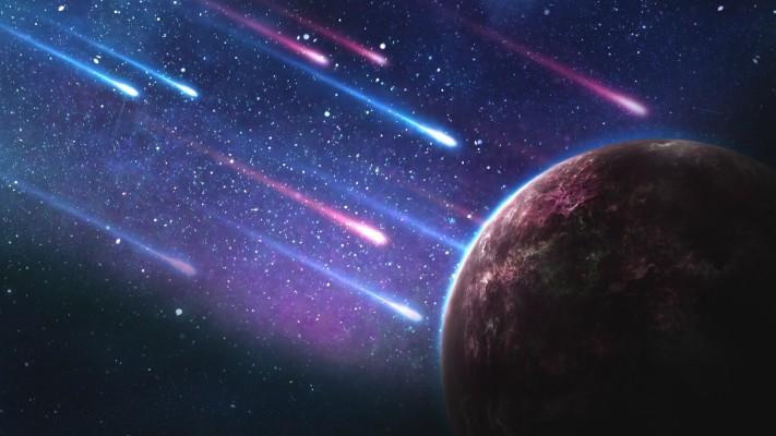 186 1867670 meteorites planet stars galaxy galaxy wallpaper 4k