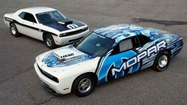 Dodge Challenger Drag Race Package Car