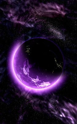 19 192740 wallpaper planet space universe galaxy purple iphone purple