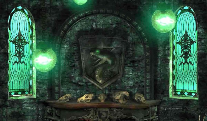 Slytherin Common Room From Harry Potter Pottermore Slytherin Common Room Pottermore 1200x701 Wallpaper Teahub Io