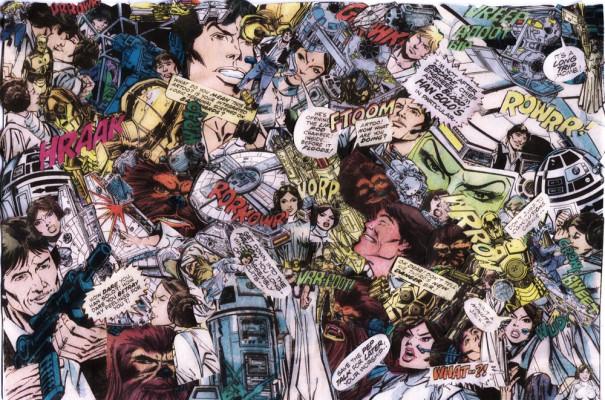 Vintage Star Wars Comic 1000x661 Wallpaper Teahub Io