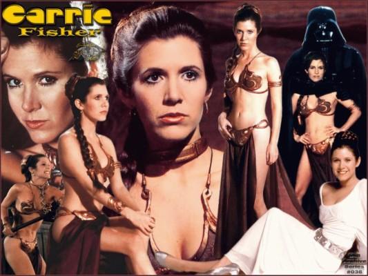 Star Wars Carrie Fisher Slave Leia Organa Wallpaper Carrie Fisher Slave Leia 1600x1058 Wallpaper Teahub Io