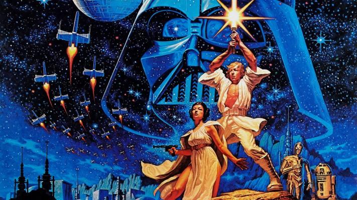 Blue Star Wars Aesthetic 1814x776 Wallpaper Teahub Io