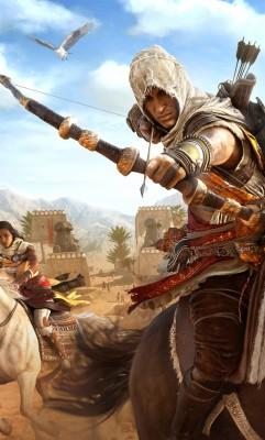 Assassin Creed Origins Wallpaper 4k For Mobile 1280x2120 Wallpaper Teahub Io