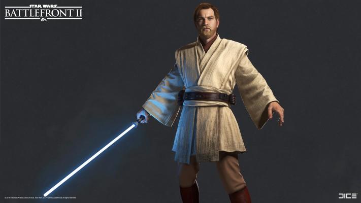 Obi Wan Kenobi Holding Lightsaber 1280x1024 Wallpaper Teahub Io
