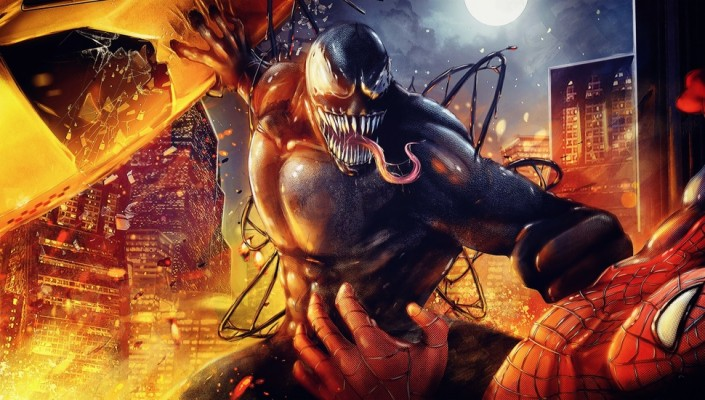 192 1929938 spider man marvel spider man venom venom desktop