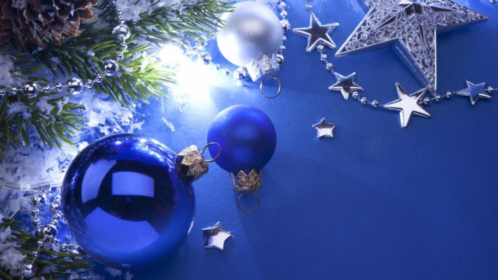 Blue Xmas Desktop Wallpapers Full Hd Christmas Background 1600x900 Wallpaper Teahub Io