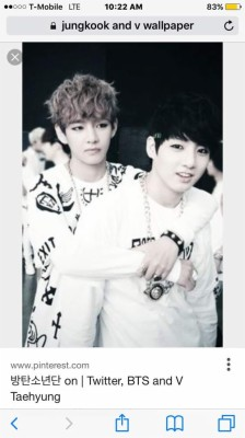 198 1988463 bts v and jungkook cute