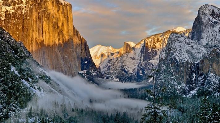 Wallpapers Wide Wallpapers E Hd Wallpapers Yosemite National Park Yosemite Valley 1280x800 Wallpaper Teahub Io