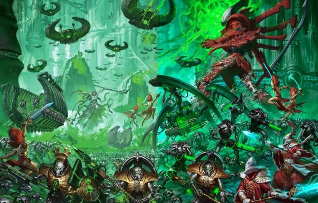 Warhammer 40k Necron Wallpaper