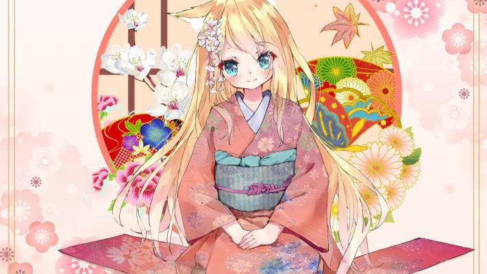 Anime Cat Girl With Sword 7500x4074 Wallpaper Teahub Io