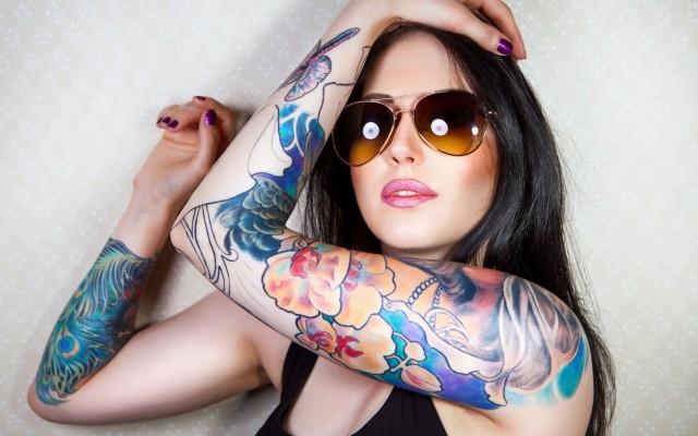 Tattoo girl hot 120+ Feminine