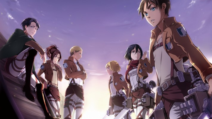 Attack On Titan Wallpaper In Hd Mikasa Protecting Eren 800x600 Wallpaper Teahub Io