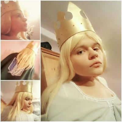 User Uploaded Image Queen Historia Historia Reiss Cosplay 1024x1024 Wallpaper Teahub Io
