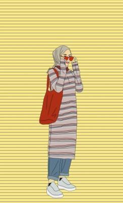 Hijab Cartoon 910x1031 Wallpaper Teahub Io