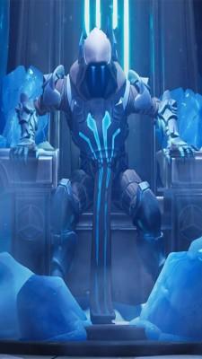 Fortnite Battle Royale Ice King 4k Ice King Wallpaper Fortnite 1080x1920 Wallpaper Teahub Io