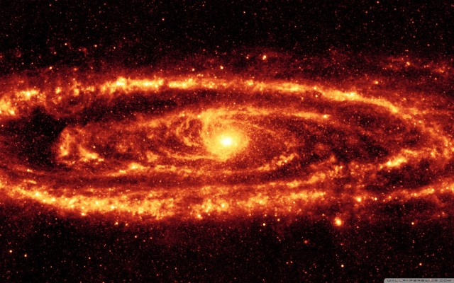 Galaxy Background Hd Red