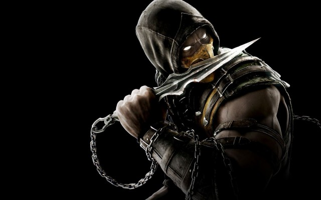 Mortal Kombat Xl Scorpion Wallpaper 4k Wallpapershit