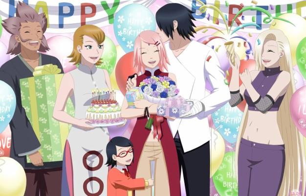 Wallpaper Of Anime Naruto Boruto Family Background Naruto And Sasuke Family 1920x1200 Wallpaper Teahub Io
