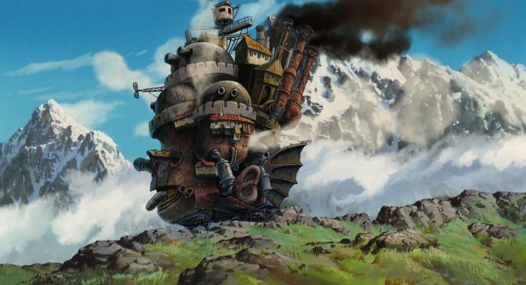 27+ Howl's Moving Castle Desktop Wallpaper Hd JPG
