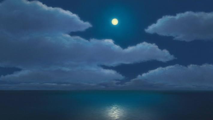 Spirited Away Wallpaper Moon 1920x1080 Wallpaper Teahub Io