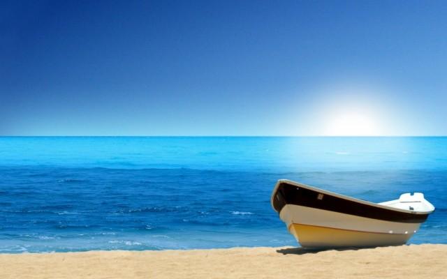 2560x1600 Boat Blue Ocean Beach Wallpaper Data Id Beach Background Hd For Photoshop 2560x1600 Wallpaper Teahub Io