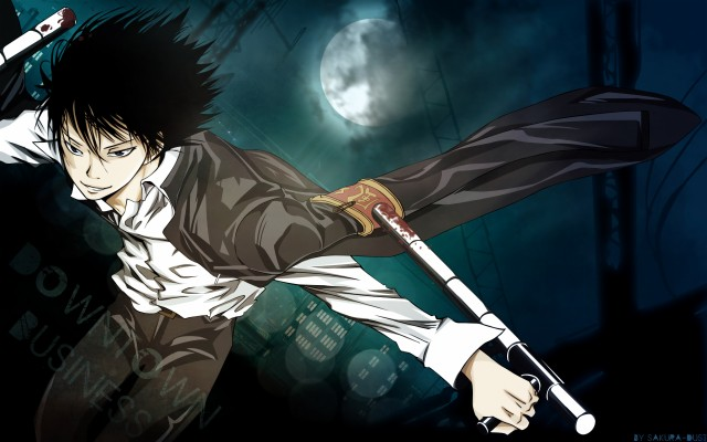 Photo Wallpaper Anime Art Lambo Halloween Reborn Katekyo