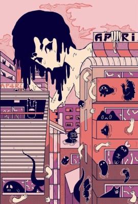 Aesthetic Anime And Lyrics Image Cartoon Bts Wallpaper Aesthetic 720x1280 Wallpaper Teahub Io
