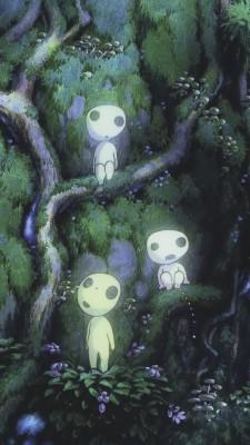 Princess Mononoke Phone Wallpaper Studio Ghibli Wallpaper Phone