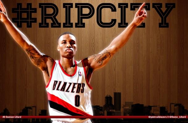 Wallpaper Damian Lillard, Basketball