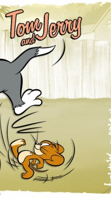 Tom And Jerry Wallpaper Iphone 564x1002 Wallpaper Teahub Io