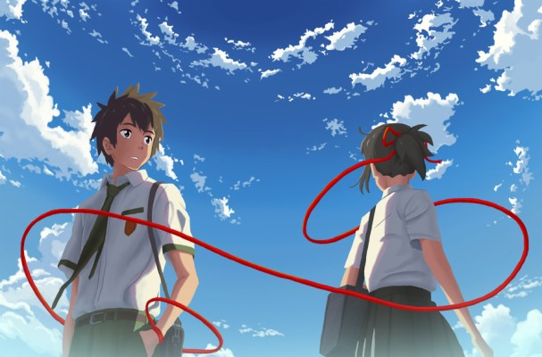 Images Of Your Name Red String Of Fate Your Name 900x593 Wallpaper Teahub Io