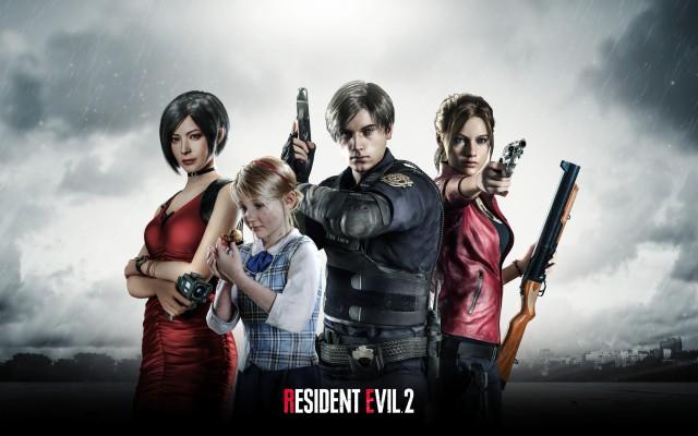 1080p resident evil 2 remake wallpaper