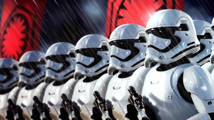 Photo Wallpaper Star Wars Soldiers Art Stormtroopers Star Wars Imperial Stormtrooper Art 1332x850 Wallpaper Teahub Io
