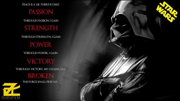Sith Code Darth Vader 1280x720 Wallpaper Teahub Io