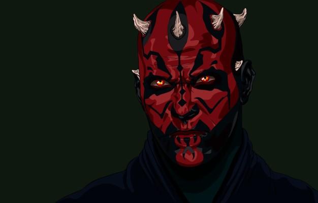 Photo Wallpaper Star Wars Tattoo Darth Maul A Sith Star Wars Zabrak Sith 1332x850 Wallpaper Teahub Io