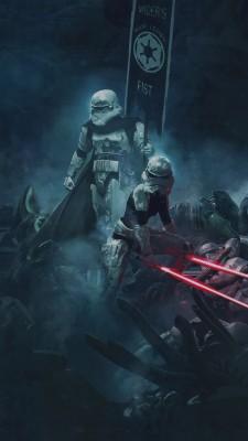 251 2511365 1242x2208 star wars the force awakens wallpaper kylo