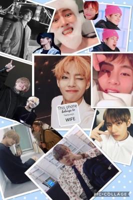 254 2541439 kim taehyung wallpaper cute