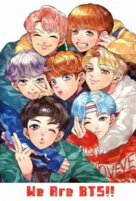 254 2541442 we are bts anime