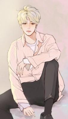 254 2541622 anime bts jimin drawing