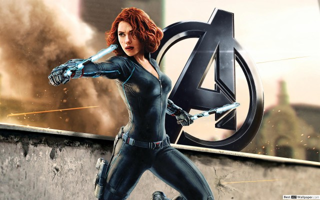 High Resolution Avengers Black Widow Wallpaper Hd 1920x1080 Wallpaper Teahub Io