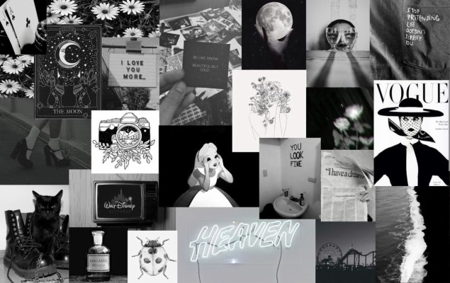 Aesthetic Macbook Wallpaper Collage 1280x799 Wallpaper Teahub Io