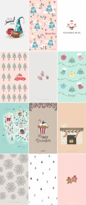 12 Free Christmas Themed Phone Wallpapers Craft 1079x2560 Wallpaper Teahub Io