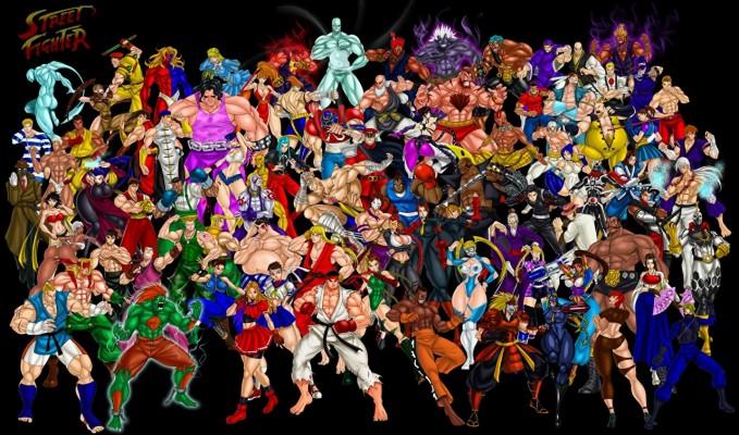 Street Fight Vs Mortal Kombat 1280x753 Wallpaper Teahub Io