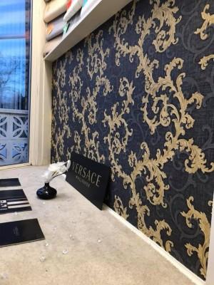 Versace Gold Wallpaper Versace Wall Paper Black And Gold 1600x1600 Wallpaper Teahub Io