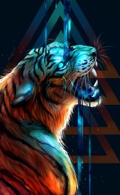 Tiger Wallpaper Iphone 988x1600 Wallpaper Teahub Io